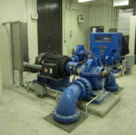 Myrtle Ave Plumbing Station New Generator and Pumps