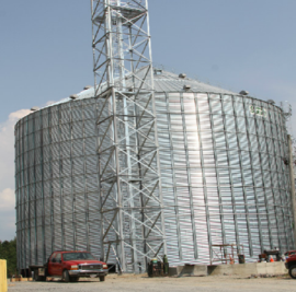 Witmers Feed and Grain New Bin System