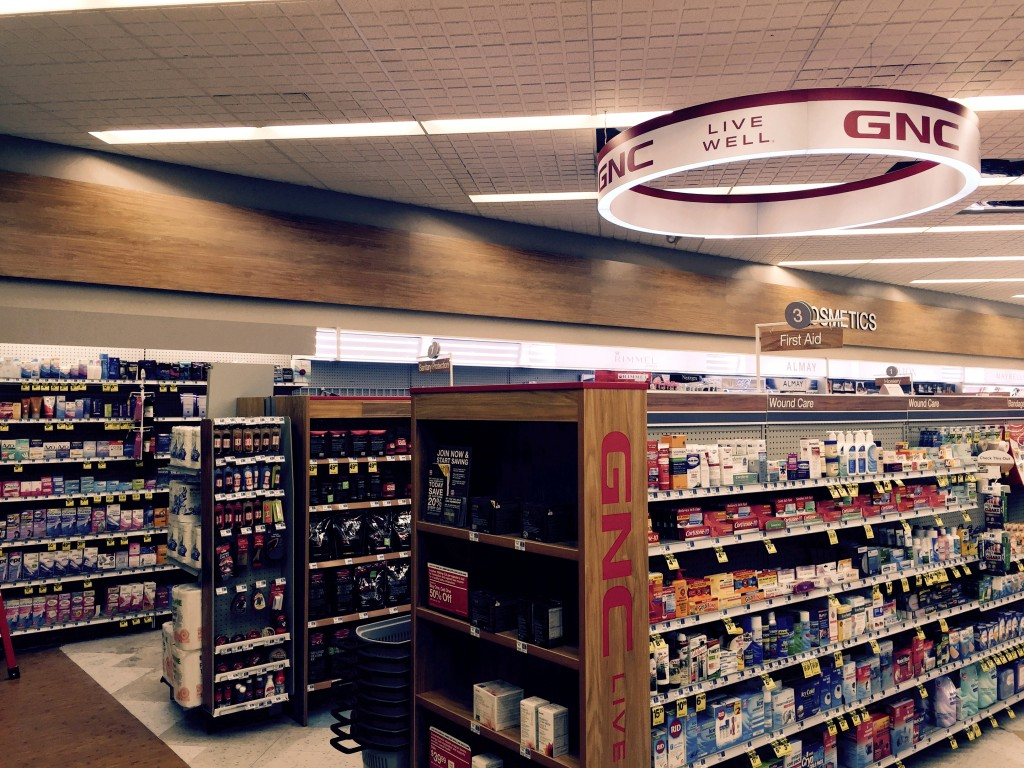 Lighting fixtures from the Rite-Aid in Girard